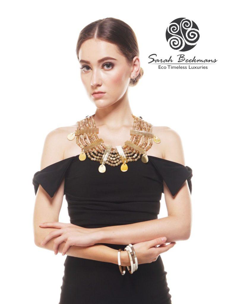 horn bead necklace poster 1 sarah beekmans