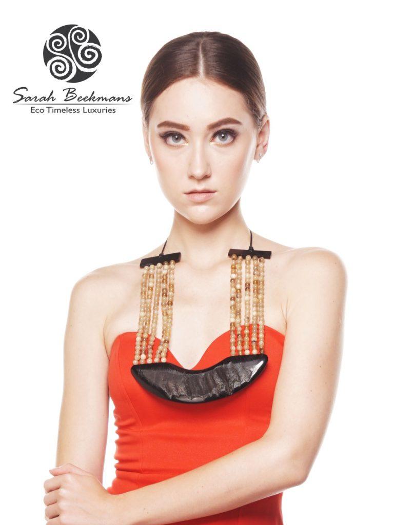 horn bead necklace poster 2 sarah beekmans