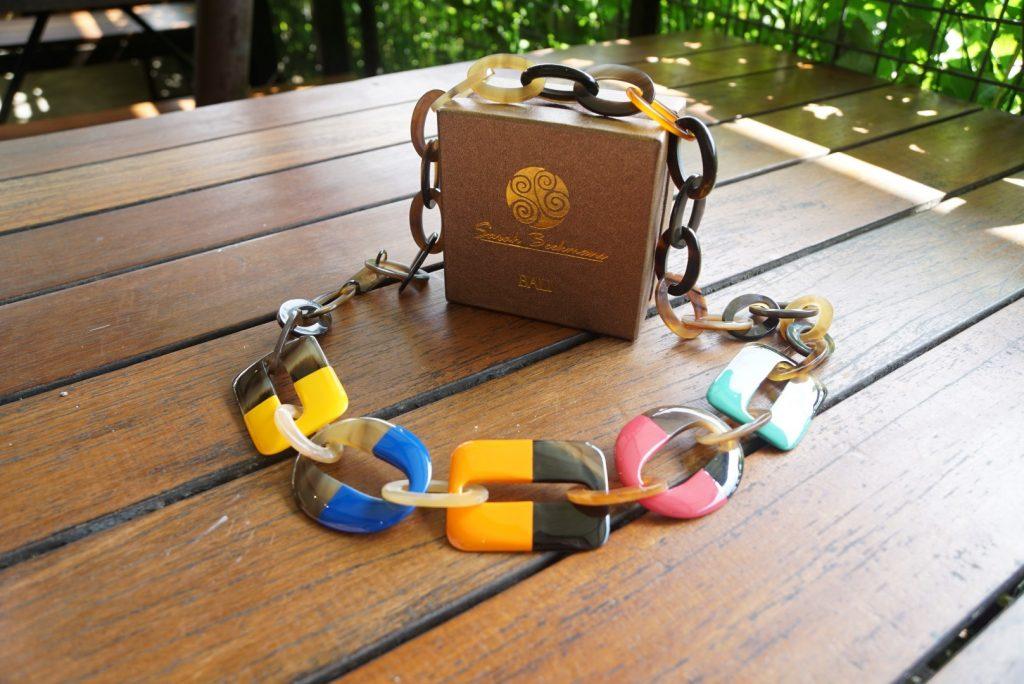 horn link necklace DSC05375