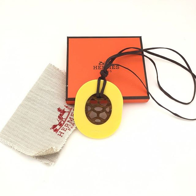 Horn necklace Hermes is a must have item