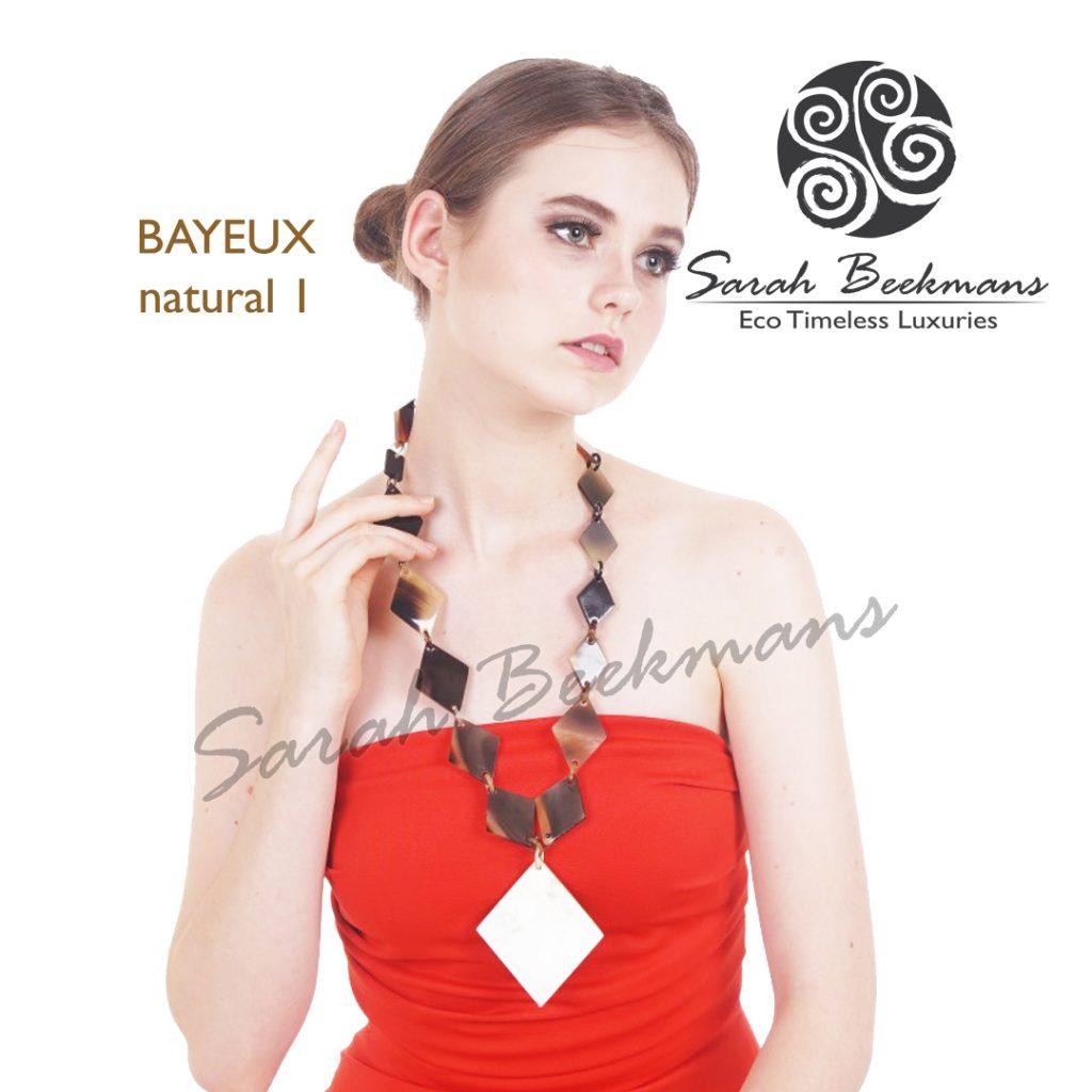Buffalo horn necklace bayeux