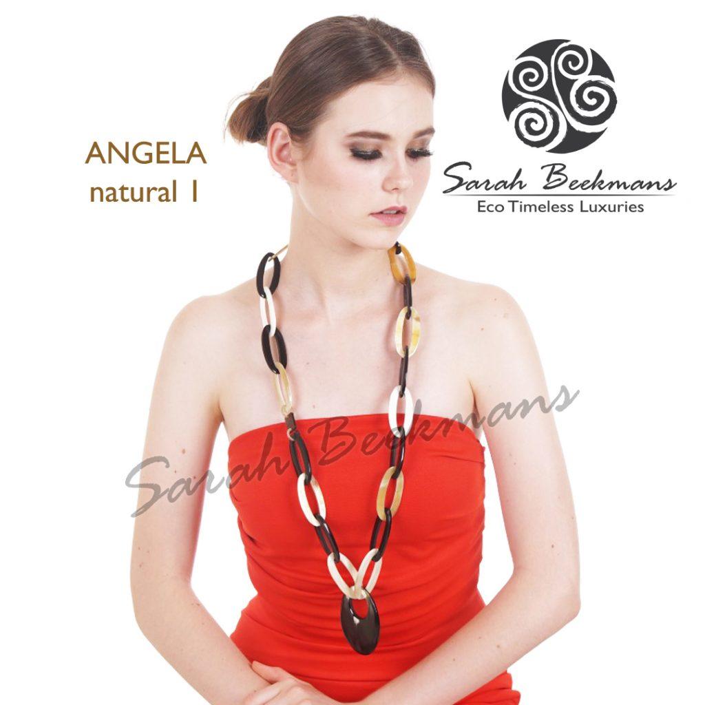 Horn jewelry angela