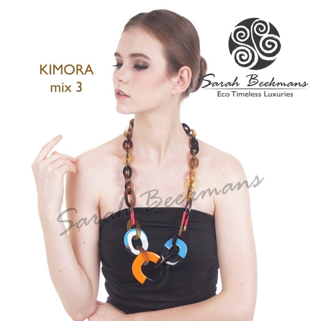 Horn pendant necklace kimora