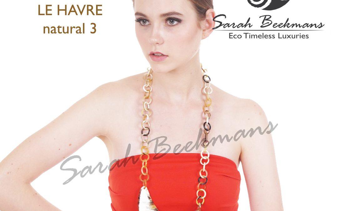 Horn pendant necklace le havre