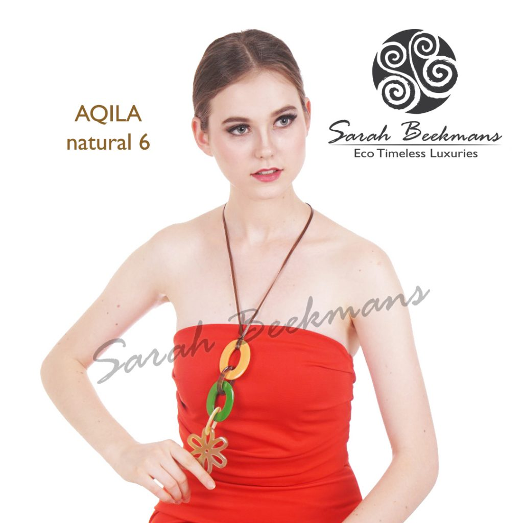 french horn necklace aqila