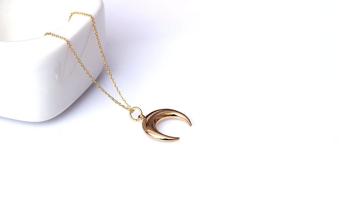 Crescent horn necklace and the meaning behind it