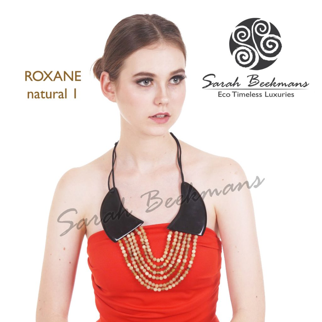 Double horn necklace roxane nat