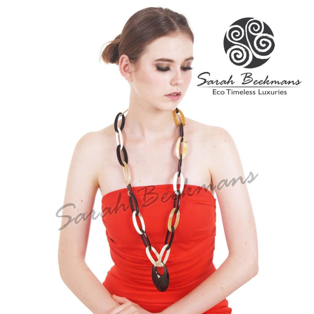 Etsy horn necklace angela