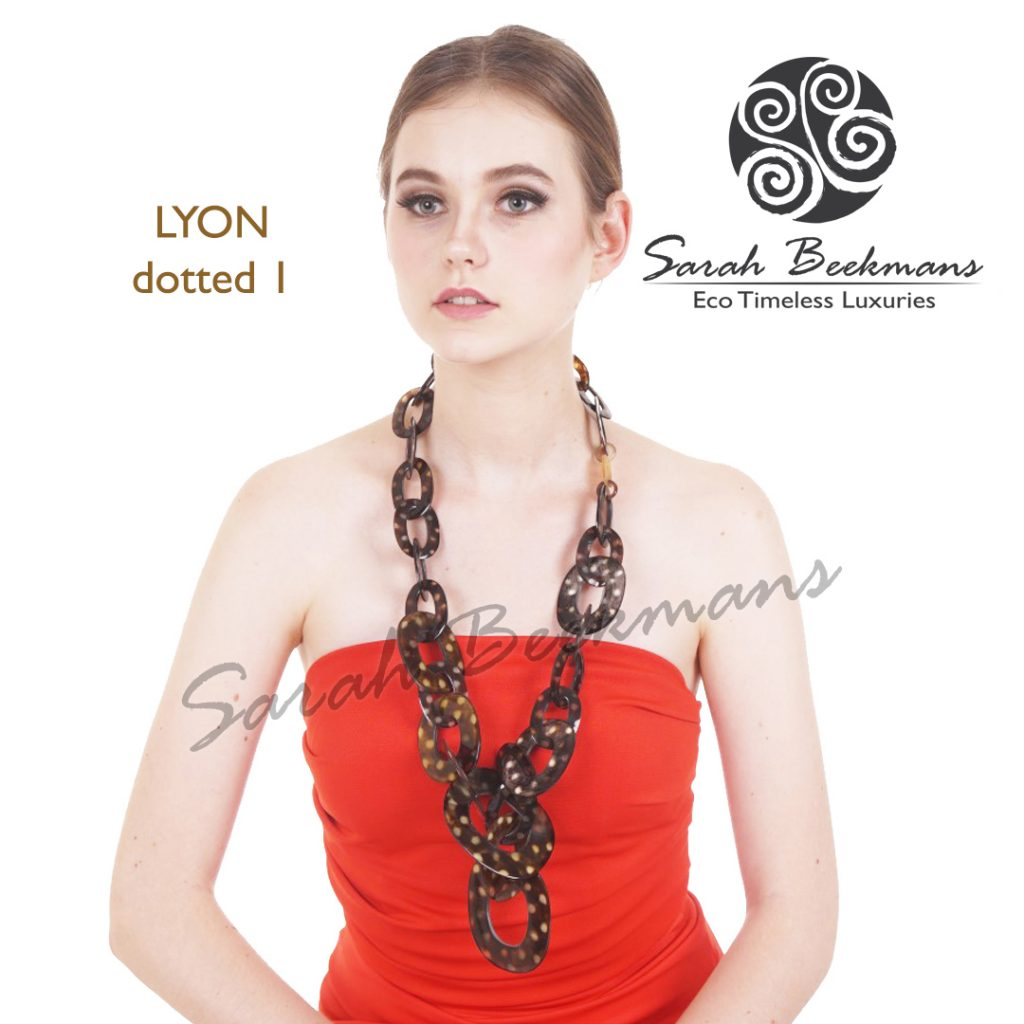 Horn necklace meaning lyon dotted nat