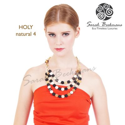 holy natural 4 horn necklace