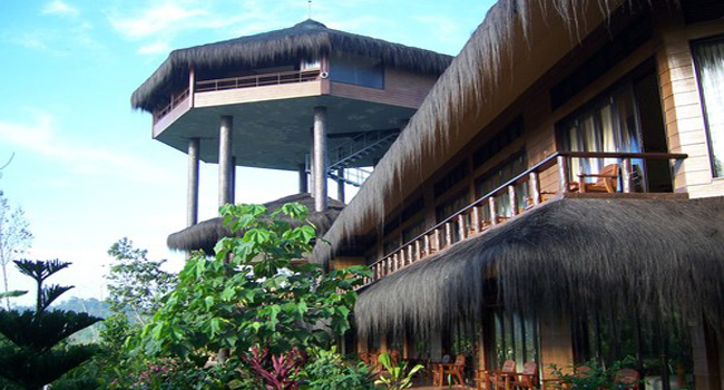 eco friendly lodging kalimantan