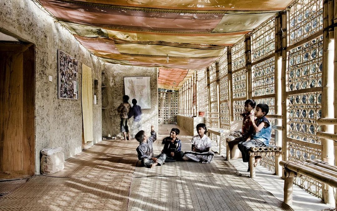 METI Handmade School, an Example of Suistanable Building