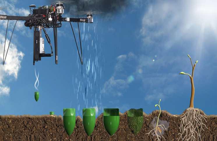 drone tree planter