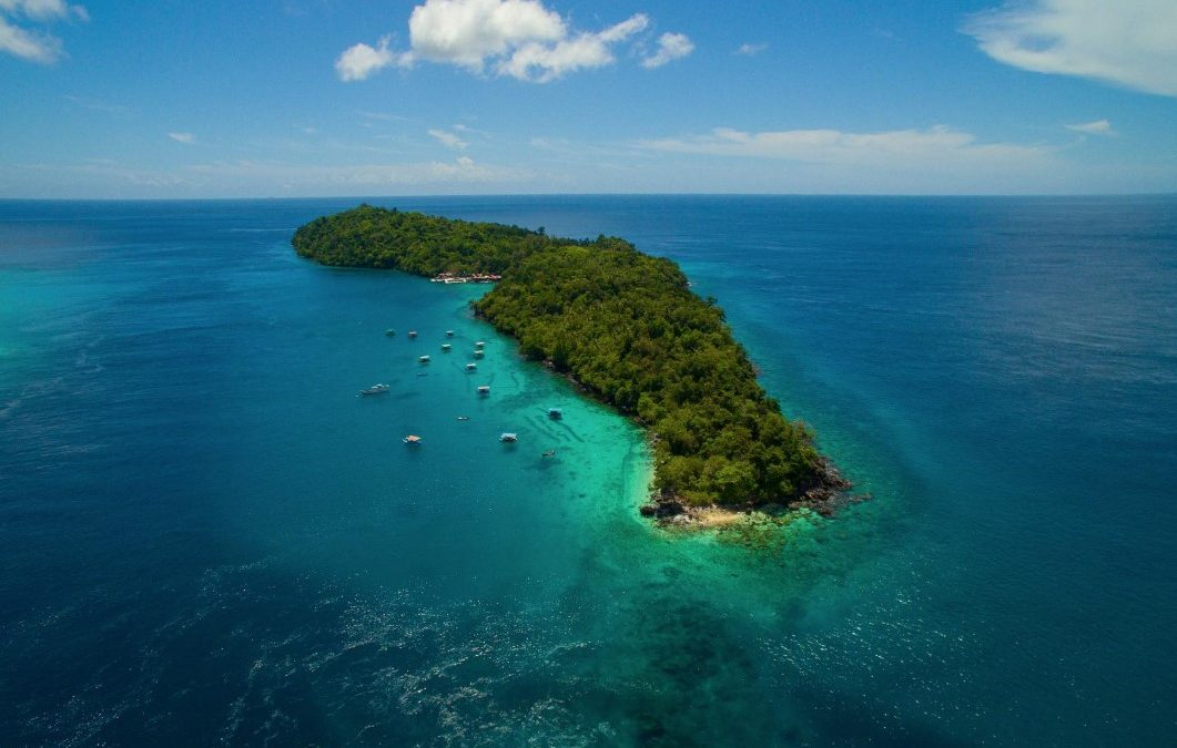 Rubiah Island in Sabang, a paradise for divers