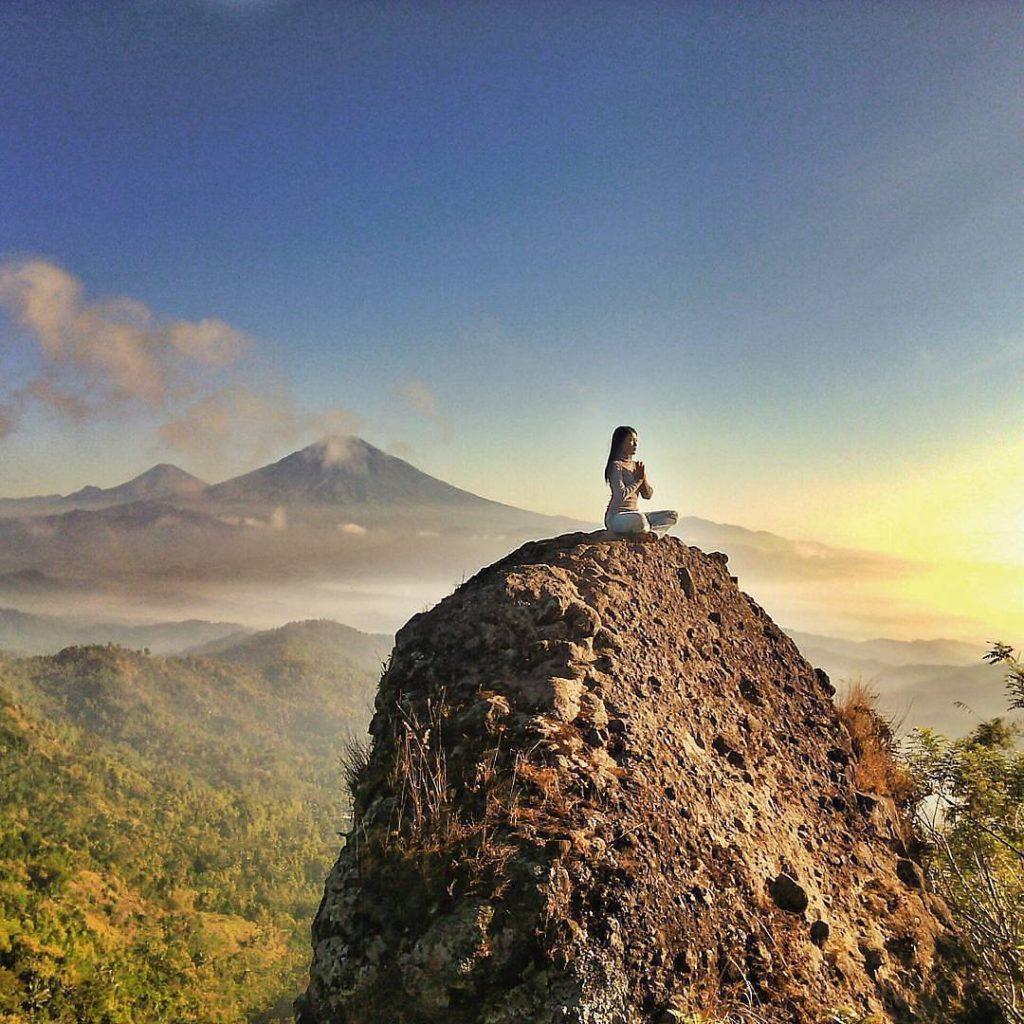 The most beautiful Sunset in Jogjakarta