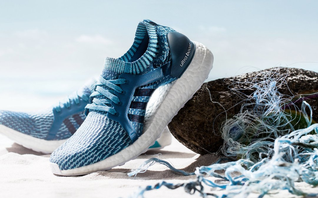 Adidas Make Shoes from Recycled Plastic