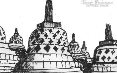 Borobudur is a beautiful inspiration