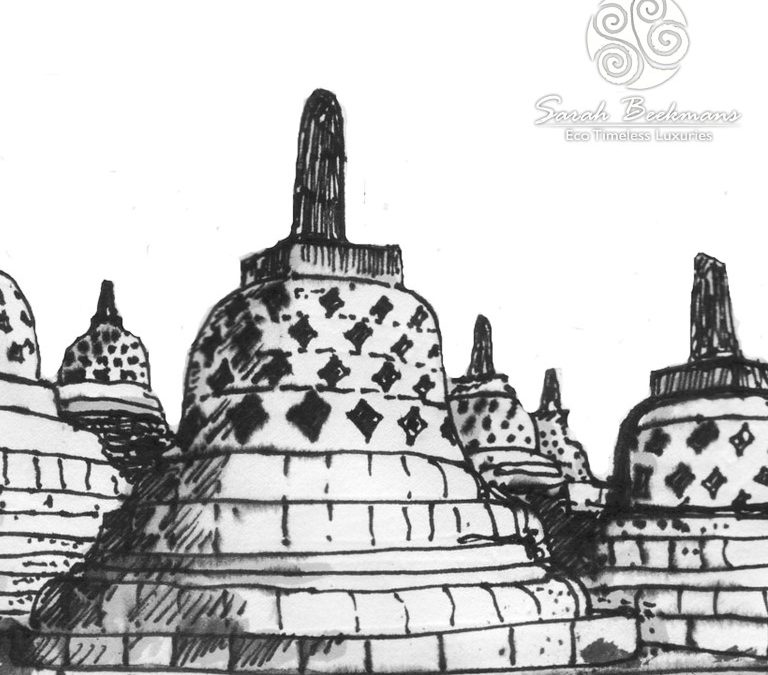 Borobudur is a beautiful inspiration