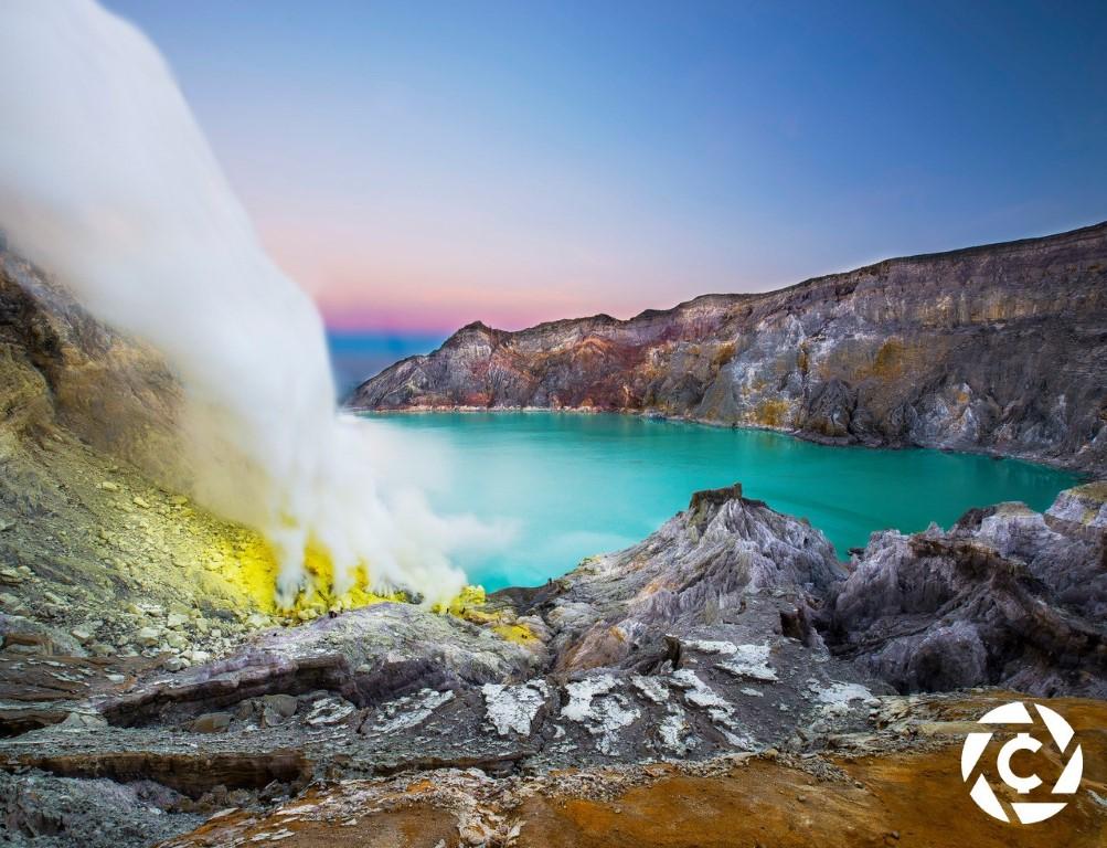 Ijen Crater Kawah Ijen