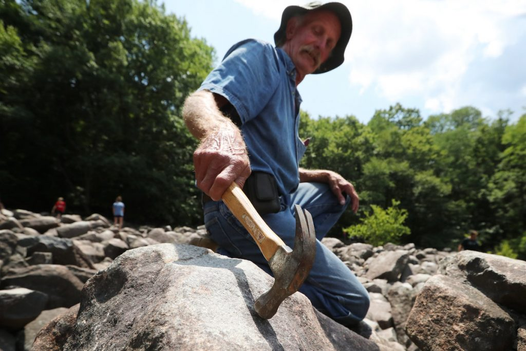 Ringing Rocks in Pennsylvania