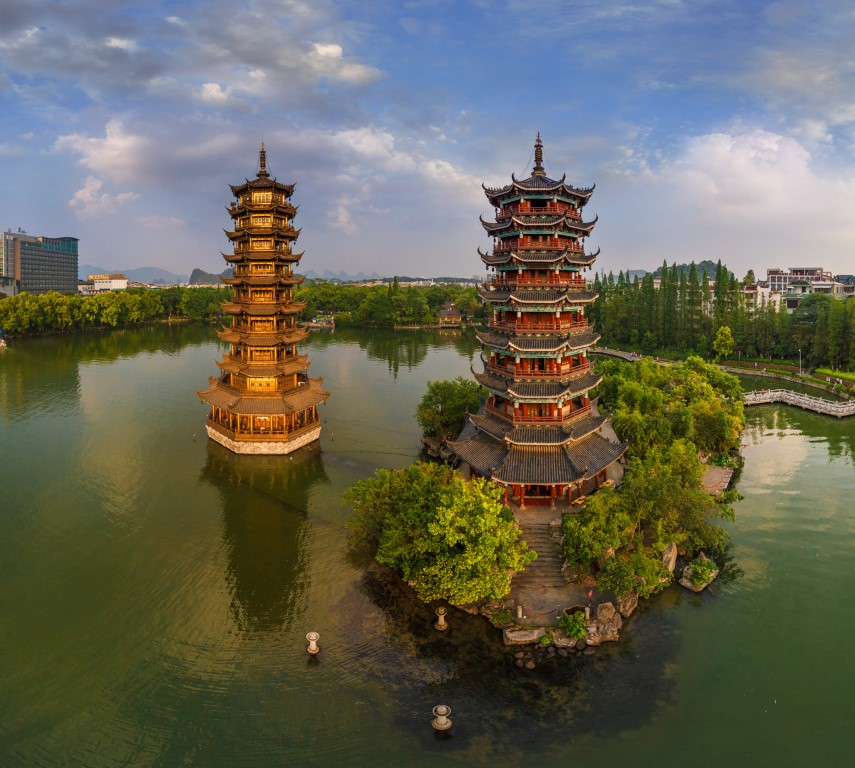 the cleanest city in china