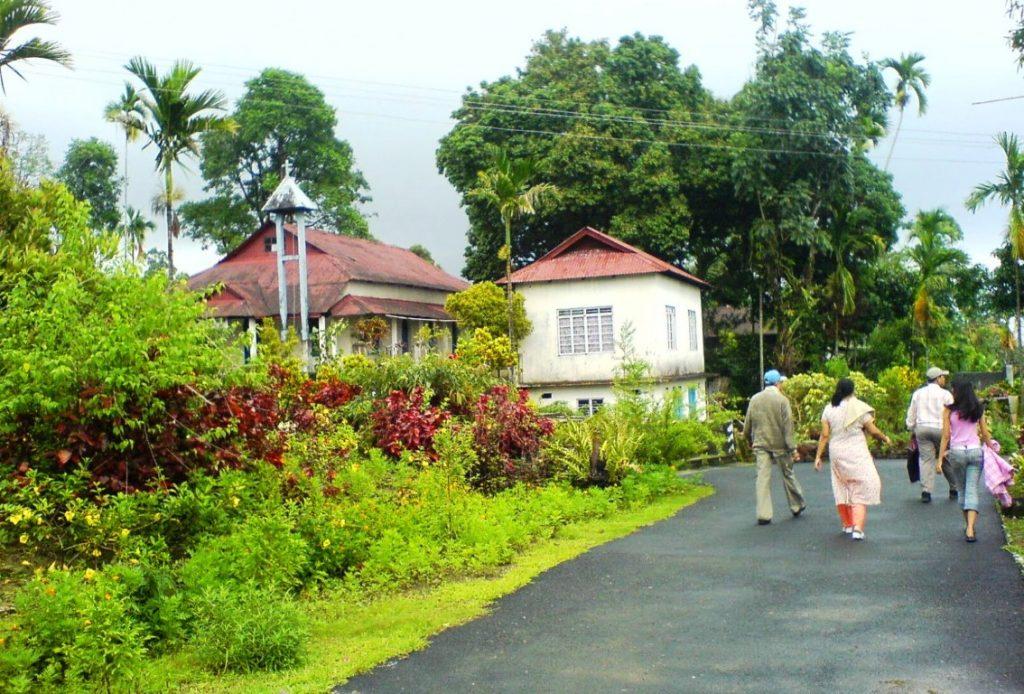 desa mawlynnong village