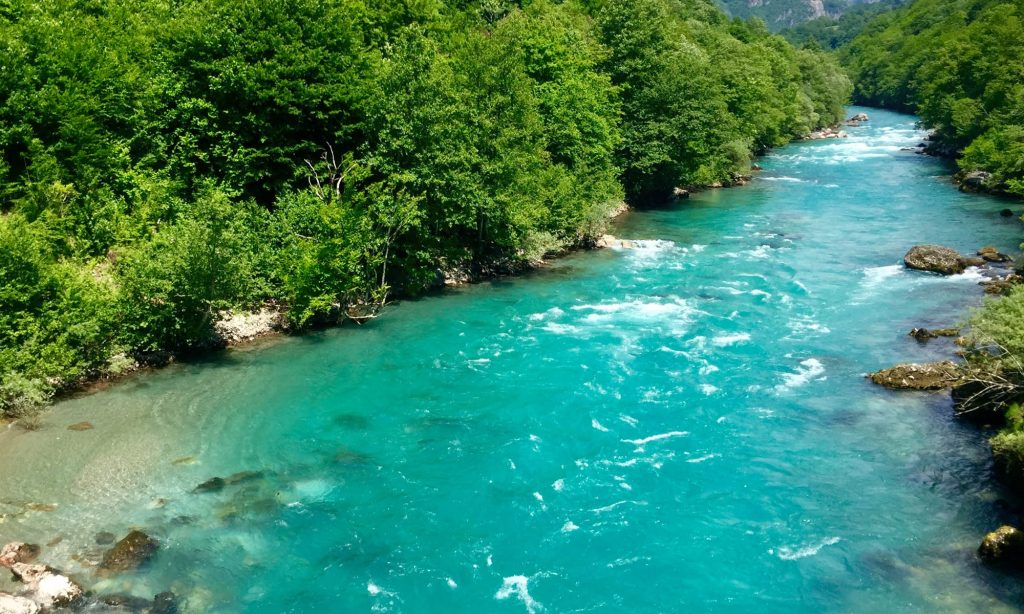 the cleanest river in the world