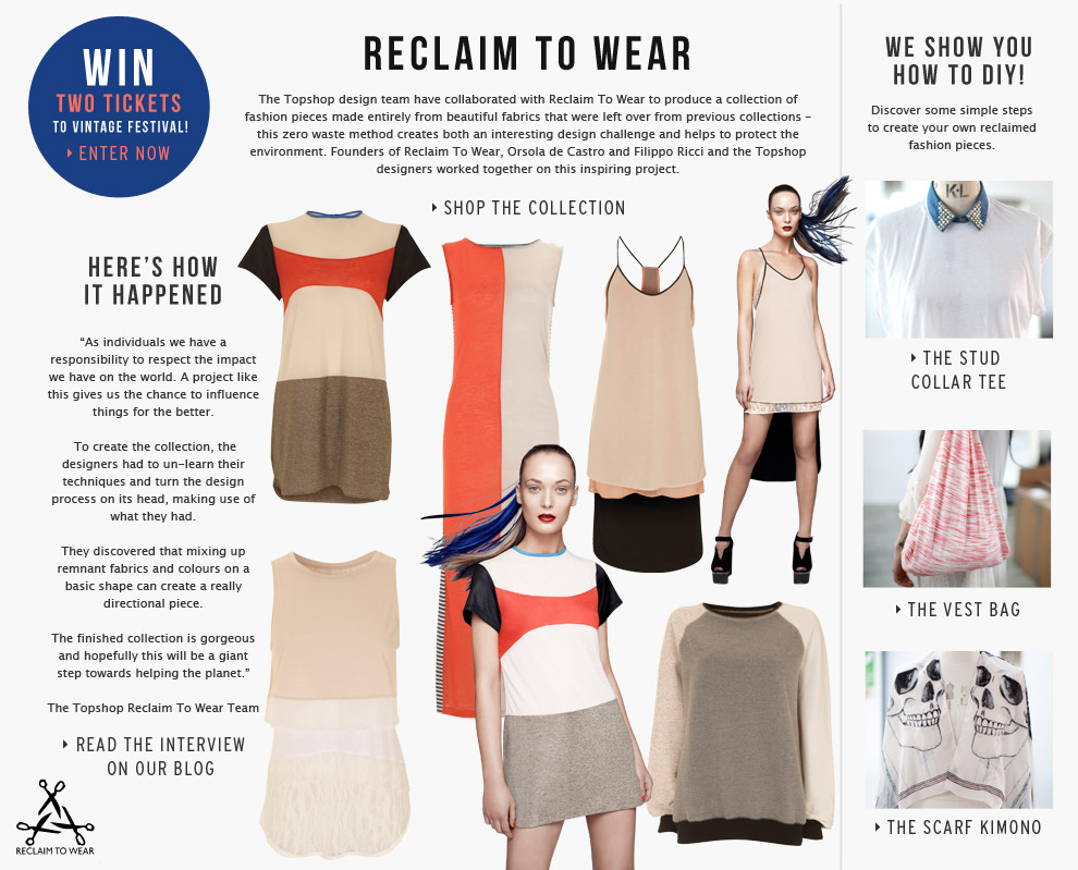 reclaim to wear