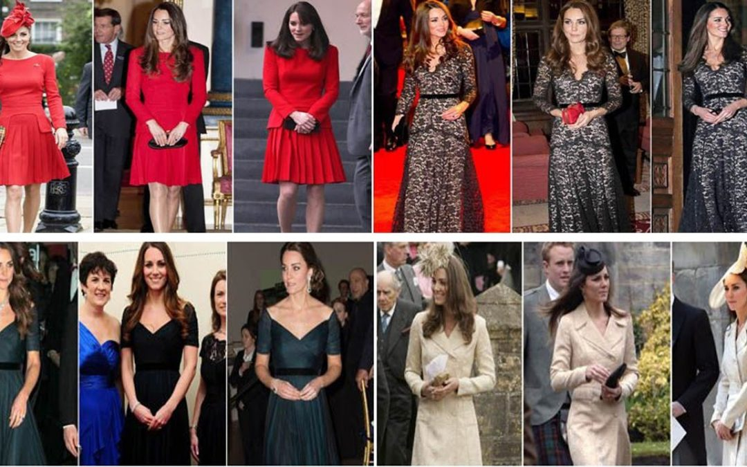 Kate Middleton Breathes New Life Into Recycled Outfits