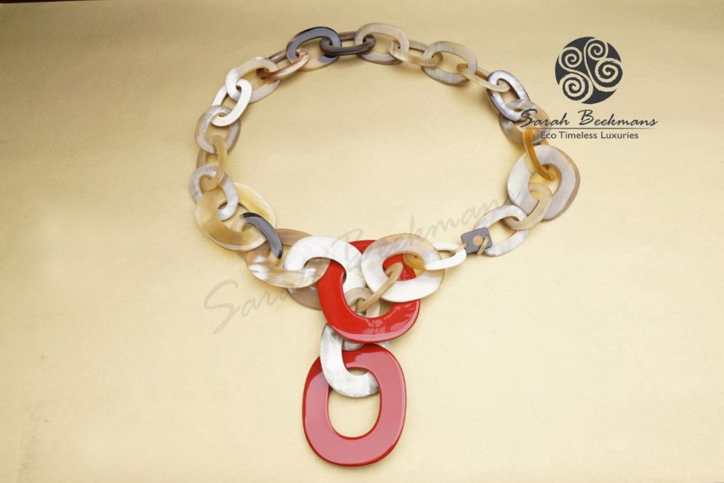 bali buffalo horn necklace