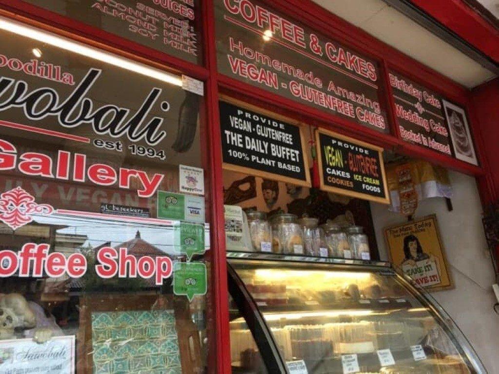Restoran Vegetarian Murah di Ubud cheap vegetarian restaurants in ubud Sawobali Cake & Coffee Shop