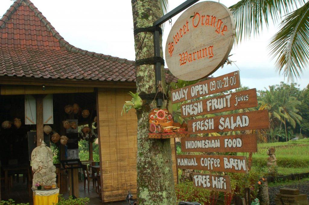 Restoran Vegetarian Murah di Ubud cheap vegetarian restaurants in ubud Sweet Orange Warung