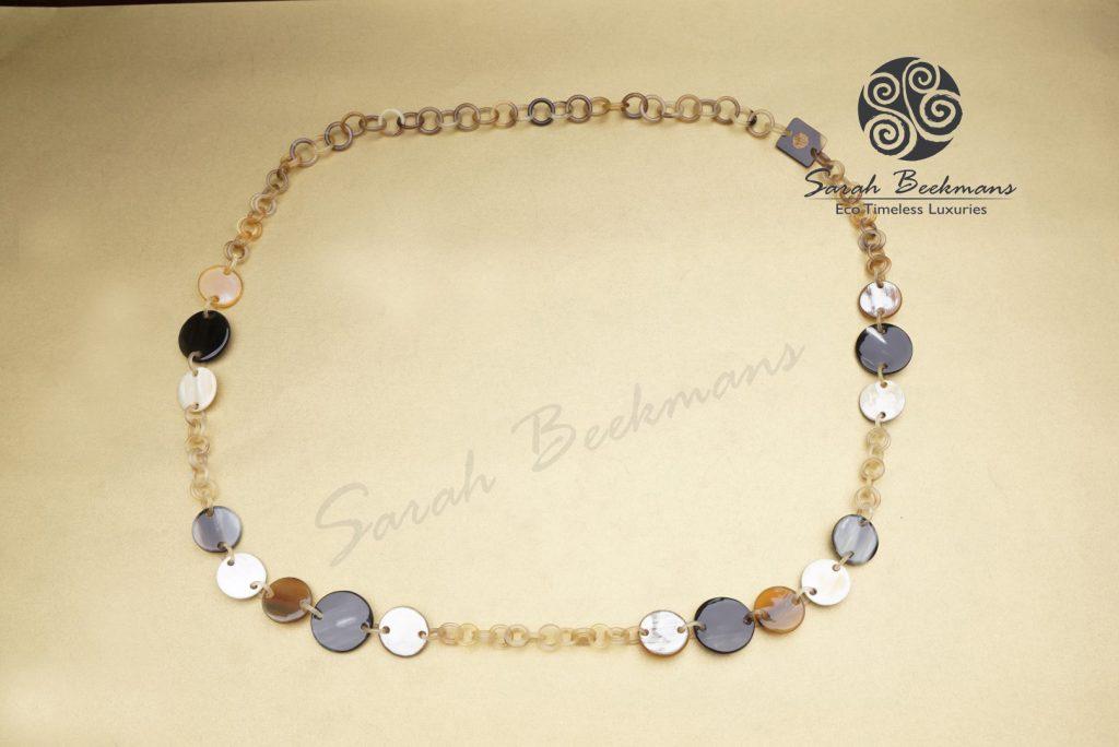 cow bone necklace pendant