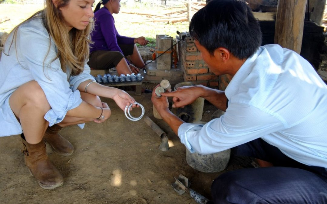 Elizabeth Suda the Founder of Article22 Sustainable Jewelry