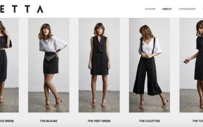 Cara Bartlett Crowdfunding Capsule Fashion Startup