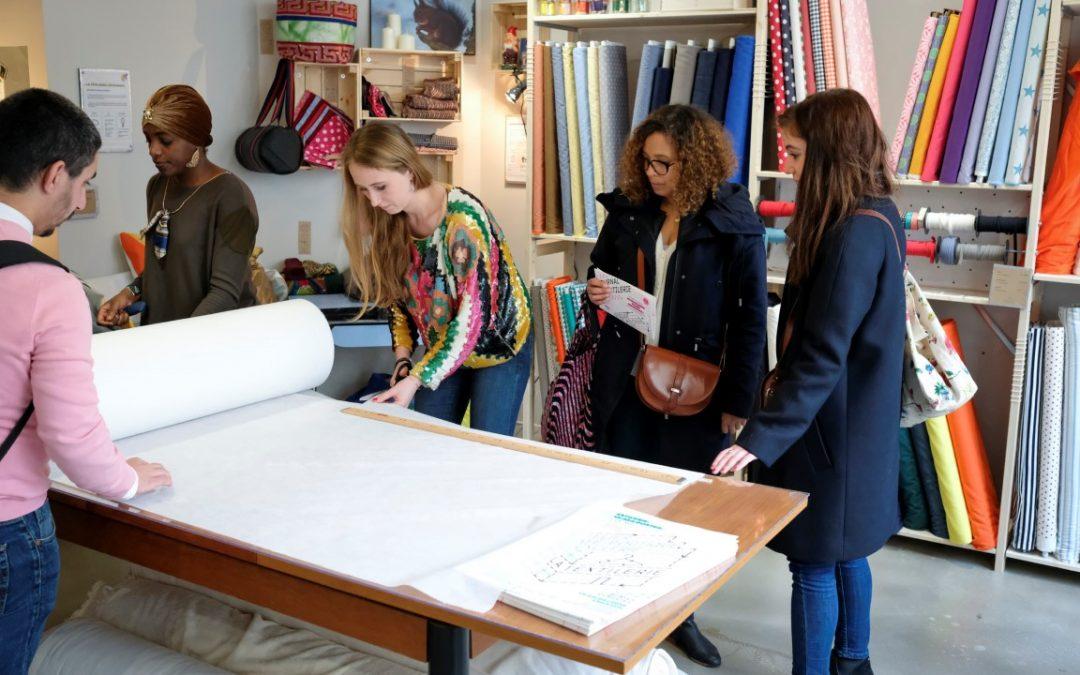 La Textilerie, an Eco-friendly Shopping Spot in Paris
