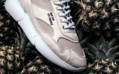 Mercer Amsterdam Sneaker Made out of Pineapple