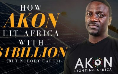 "Akon Launches ""Akon Lighting America"""