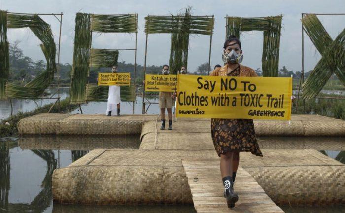 greenpeace detox catwalk campaign kampanye detoks catwalk greenpeace