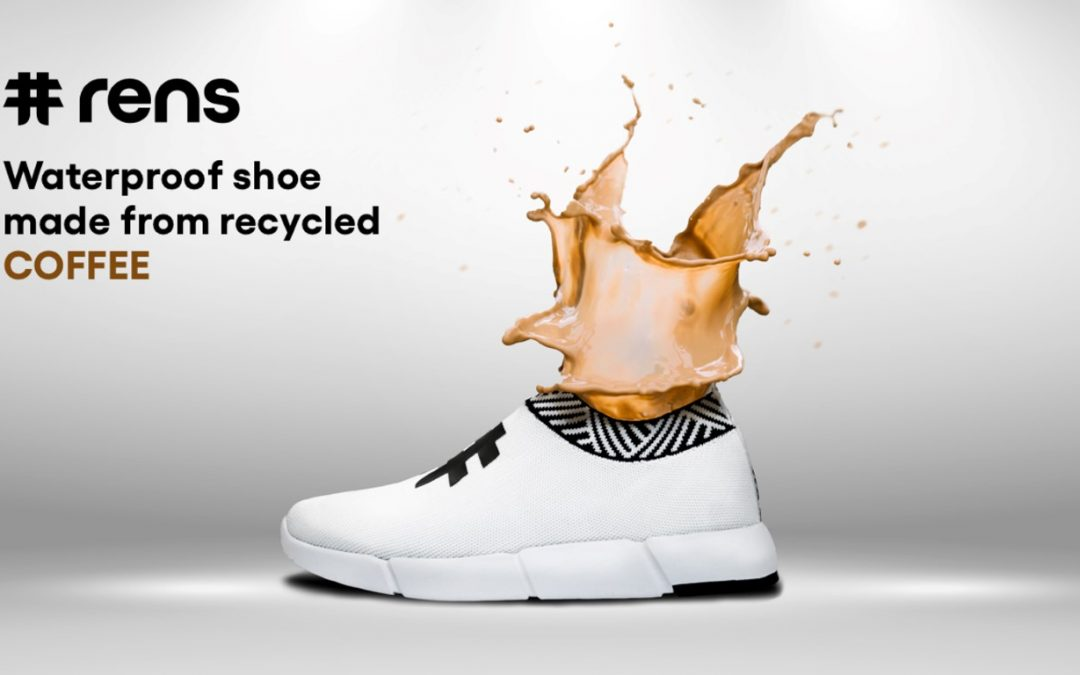 Rens: World's 1st Shoe Made From Recycled Coffee